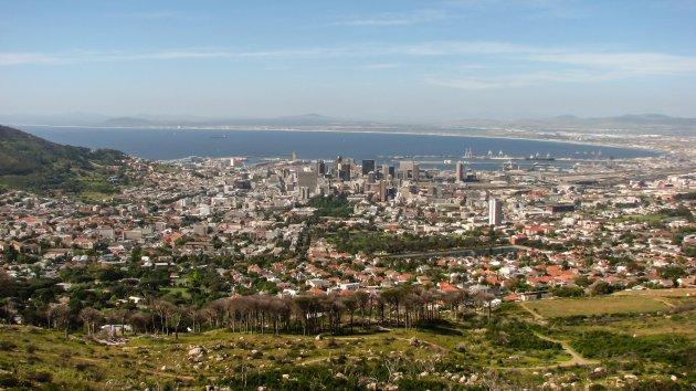Zicht op Kaapstad