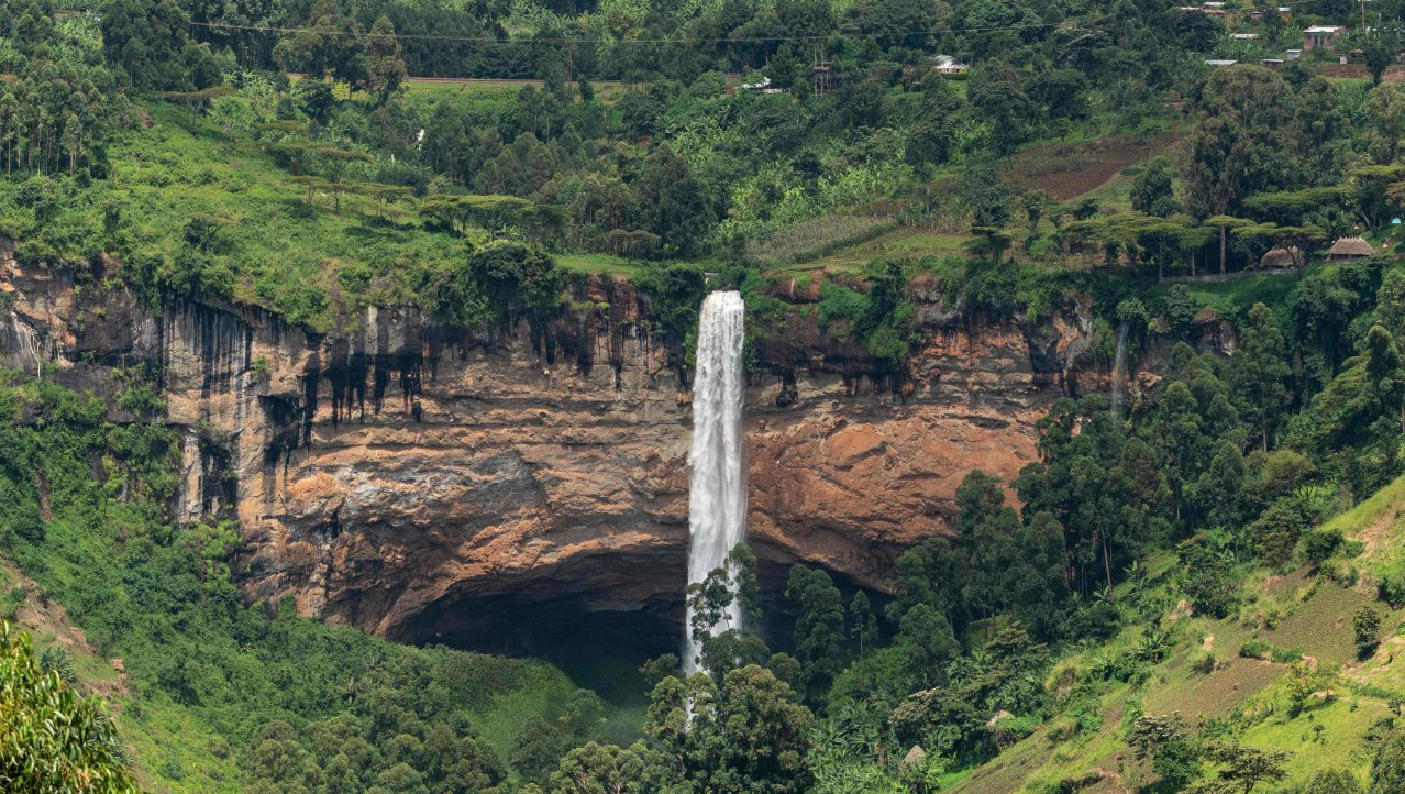 Grote waterval Sipi