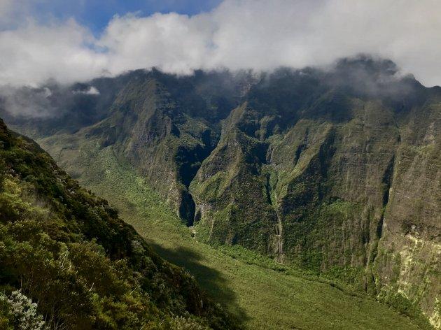 De groene valleien van Reunion