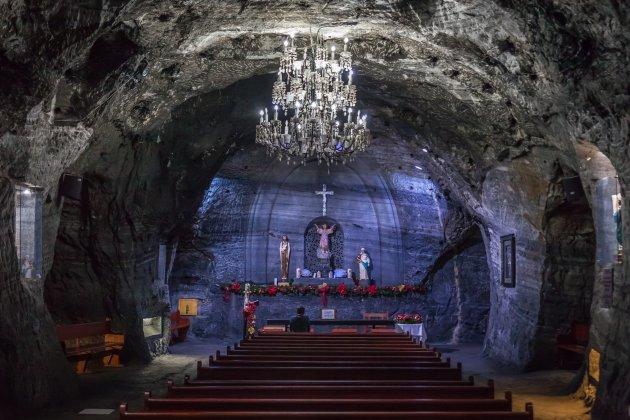 De zoutkathedraal van Zipaquirà