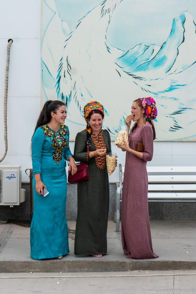 Vrouwen in Turkmenistan