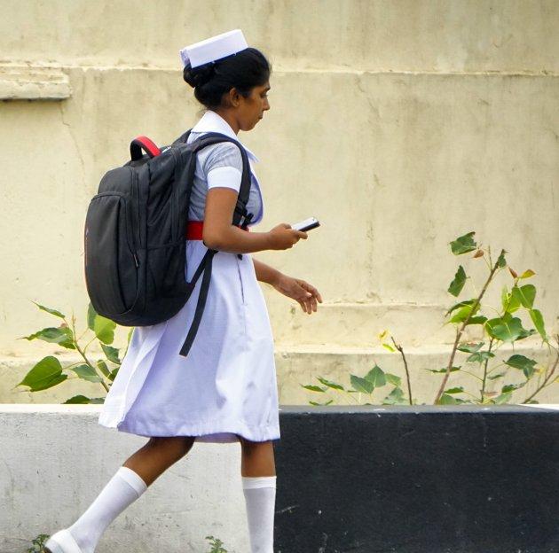 Nurse in Jaffna