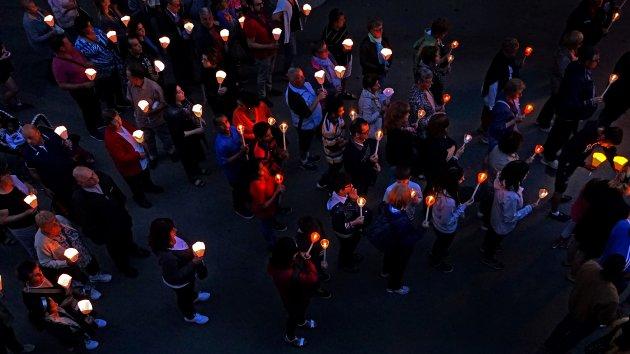licht in Lourdes