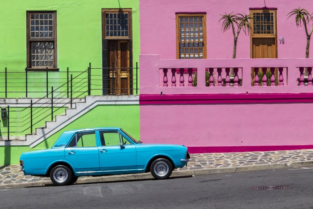 kleurrijk Bo Kaap