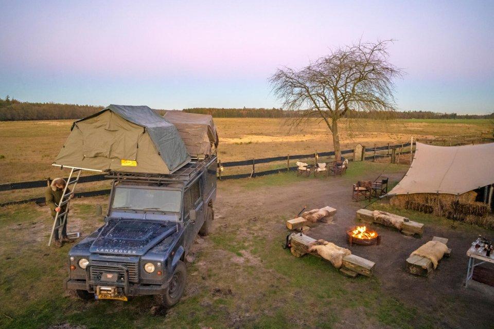 safari veluwe tent