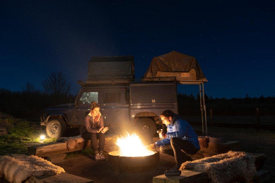 safari veluwe nacht