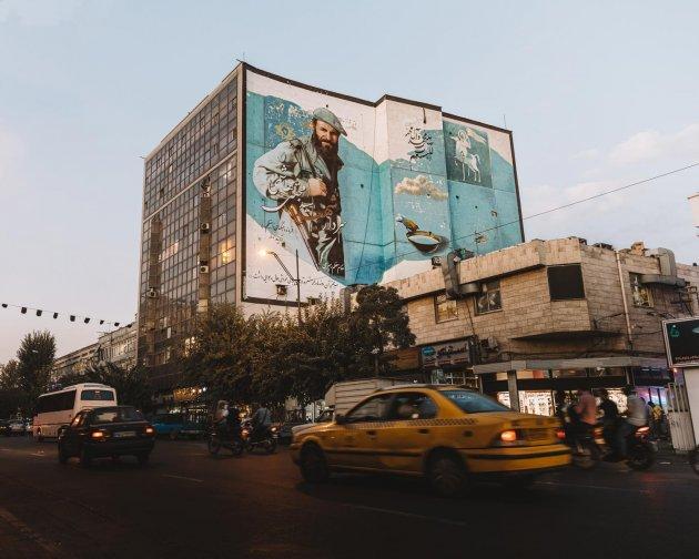 Teheran Streetart