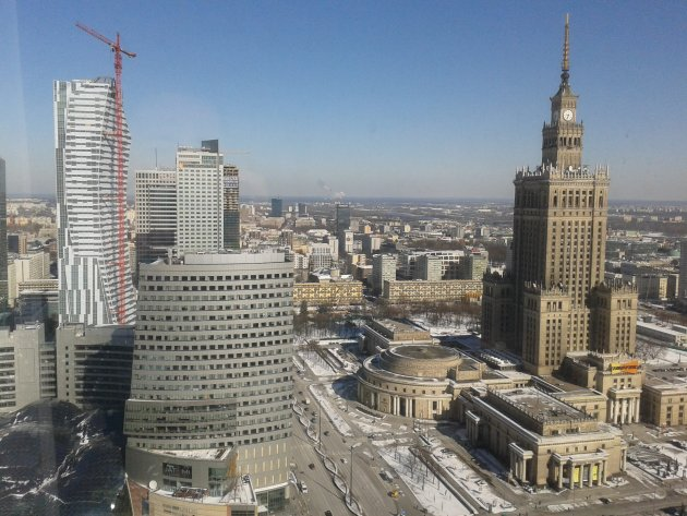 Nieuw en oud in Warschau