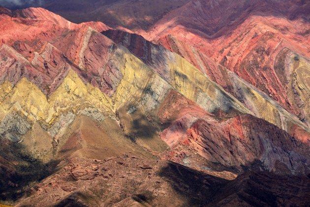 Detail van het Cerro del Hornocal