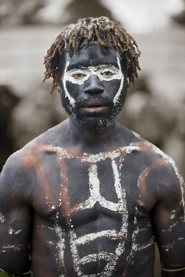 Enga festival Papua Nieuw-Guinea