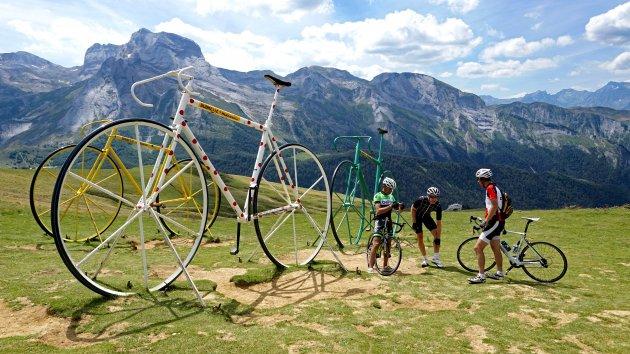 Op de fiets de Cols beklimmen