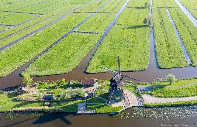 Genieten van de Nederlandse polder