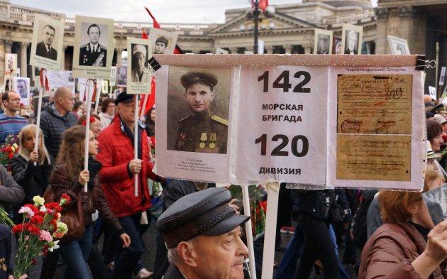 75 jaar later in St Petersburg