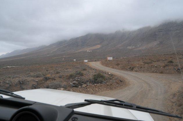 Op weg naar de mysterieuze 'Villa Winter' op Fuerteventura....