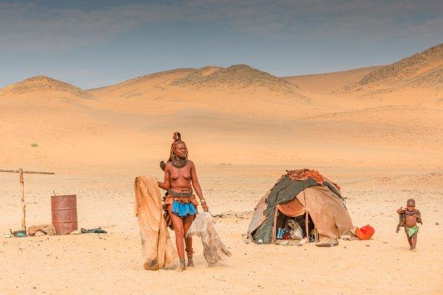 Het land van de Himba's