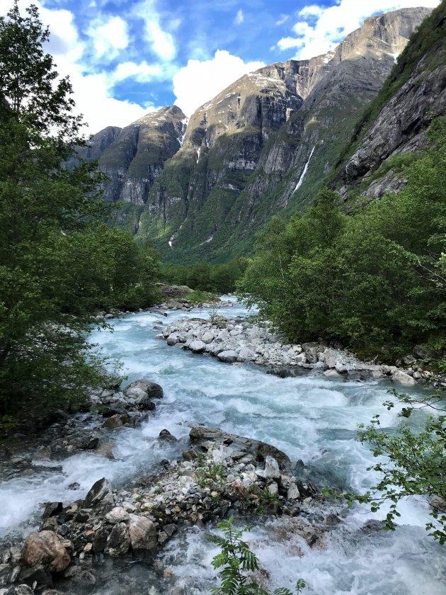 Gletsjer stroompje