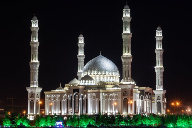 De grootste moskee in Centraal-Azie