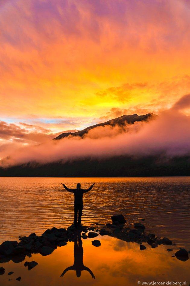 Spectaculaire luchten in Nieuw-Zeeland