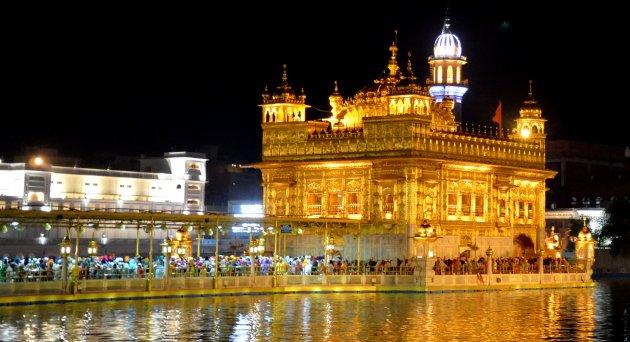 Gouden Tempel in Amritsar.