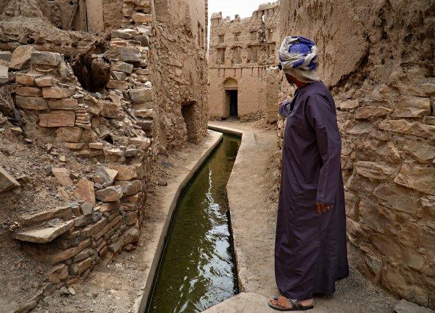 Eeuwenoud water in Birkat al Mouz
