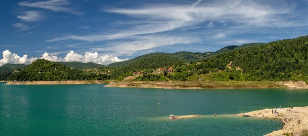 Een klein paradijsje in Servië