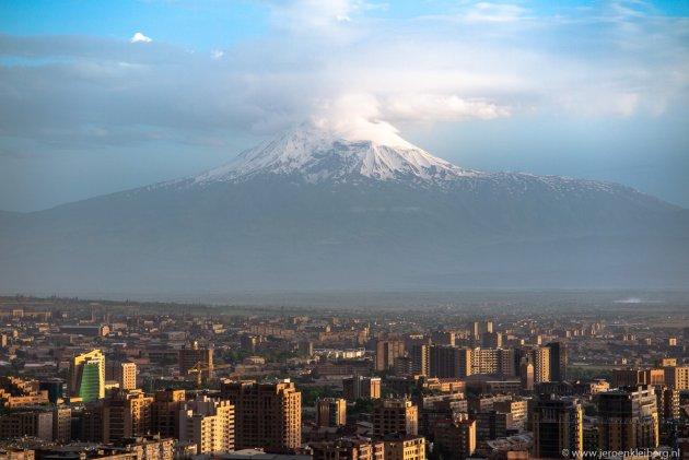 Uitzicht op Ararat