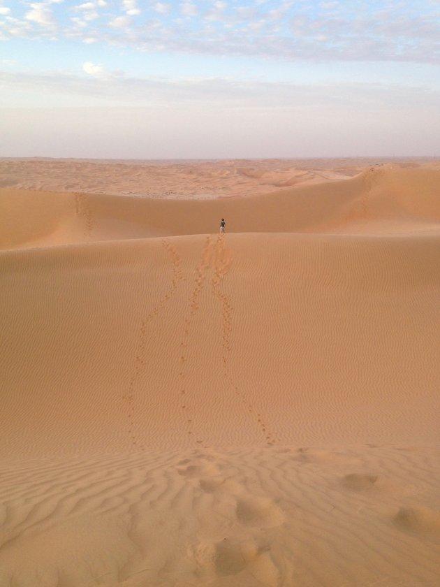 Op avontuur in de woestijn