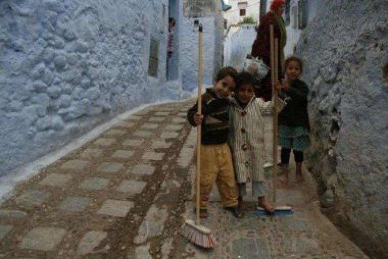 Hoofdfoto bij reisverhaal 'Blauw Chaouen'
