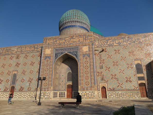 Mausoleum van Khoja Ahmed Yasawi