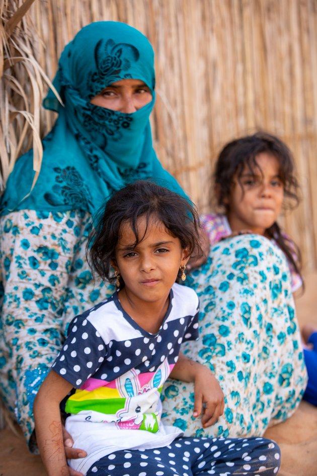 Moeder met 2 dochters