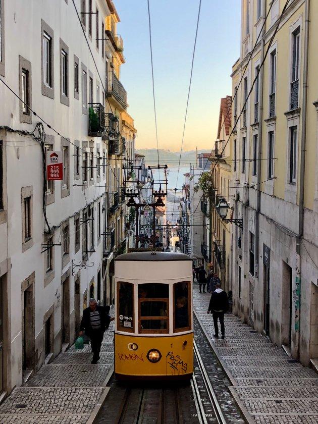 Trammetjes in Lissabon