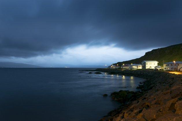 IJsland Drangsnes blauwe uurtje