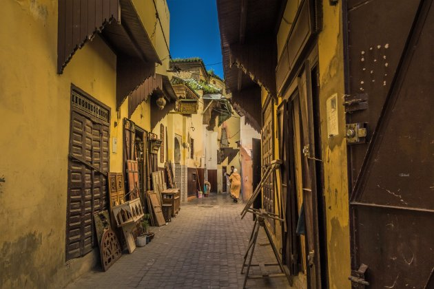 Schone straatjes in Meknes