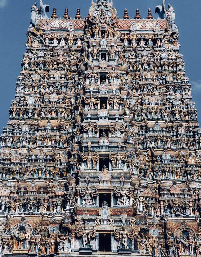 Tamil Hindi tempel