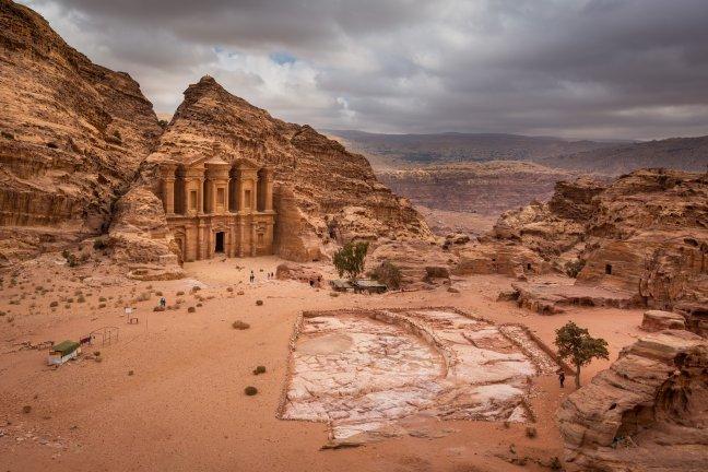 Het klooster van Petra
