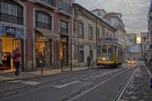 Tramritje in Lissabon