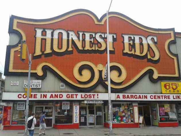 Honest Eds - A Trip Down Memory Lane