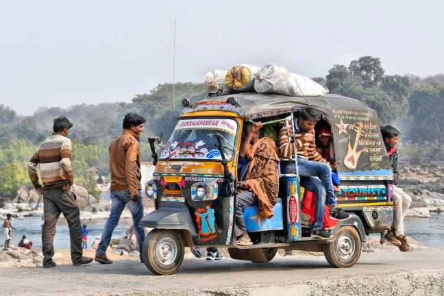 Volle tuktuk