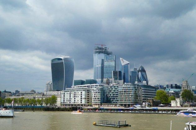 Veranderende skyline van Londen