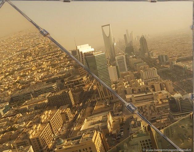 Uitzicht over Riyad