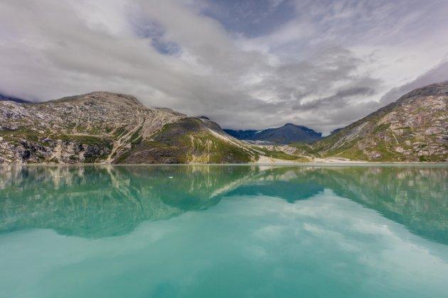 Reflectie in Glacier Bay NP
