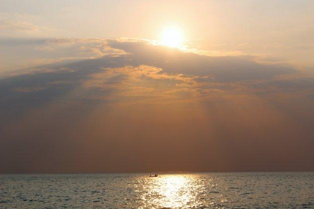 Sundowner in Zuid-India
