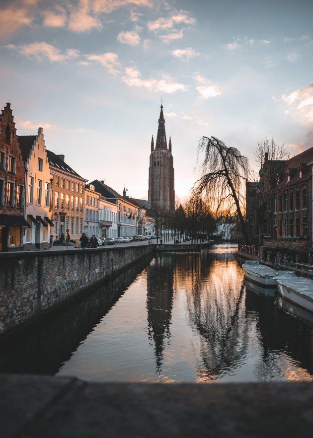 Brugge in Februari