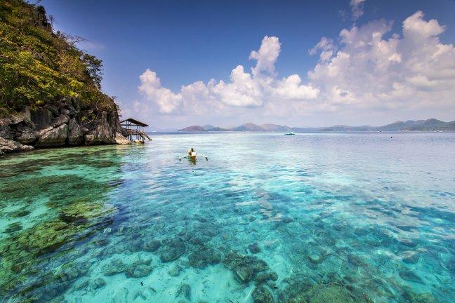 op ontdekkingstocht langs onbekende Filipijnse eilandjes