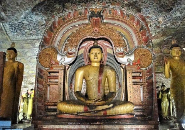 De Grot Tempels van Dambula.