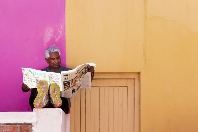 krantje lezen