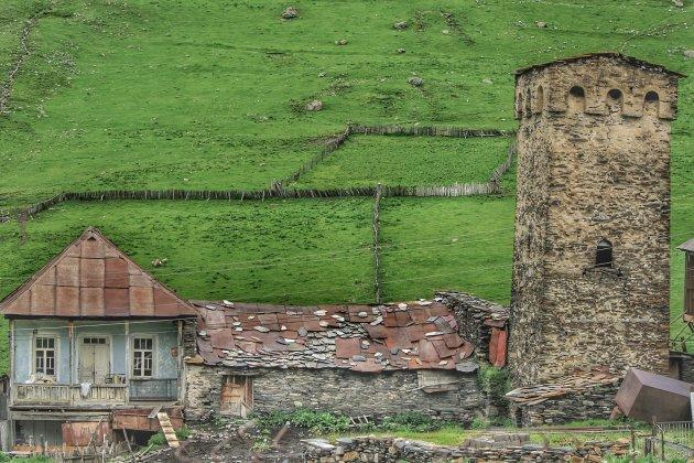 De wachttorens in Ushgulli