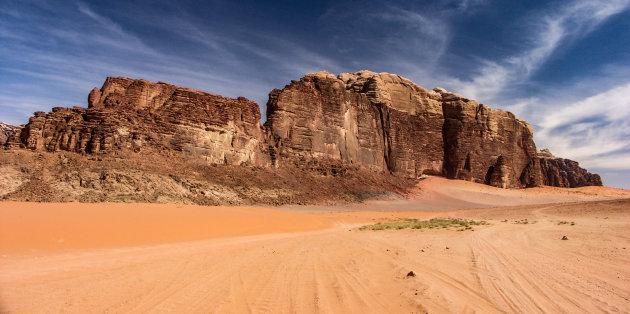Woestijn van Jordanië