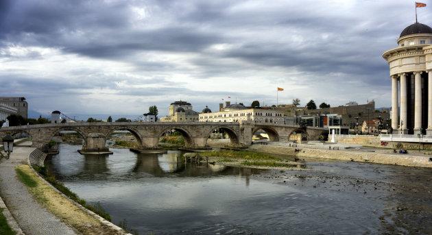 Dušanbrug Skopje