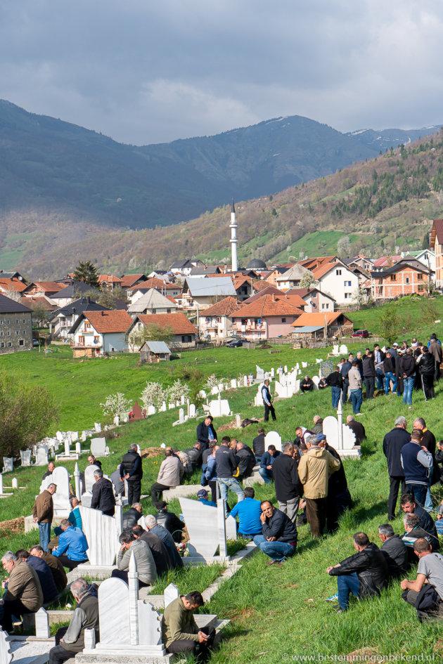 De dood is een mannenzaak in Montenegro